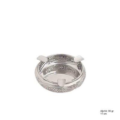 Tekbir Silver - 925 Ayar Gümüş Papatya Motifli Küllük