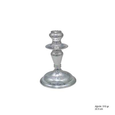Tekbir Silver - 925 Ayar Gümüş Şamdan