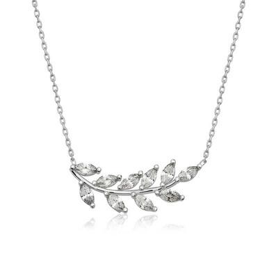 Tekbir Silver - Gümüş Başak Bayan Kolye