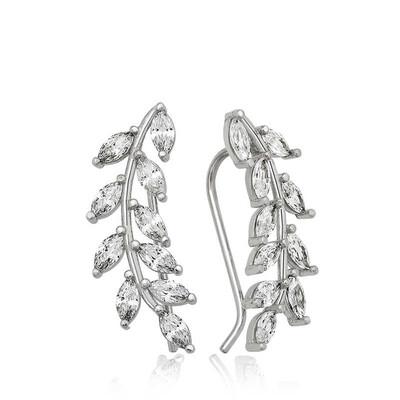 Tekbir Silver - Gümüş Başak Bayan Küpesi