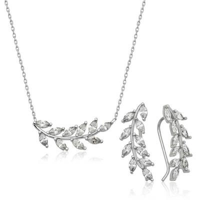 Tekbir Silver - Gümüş Başak Bayan Set