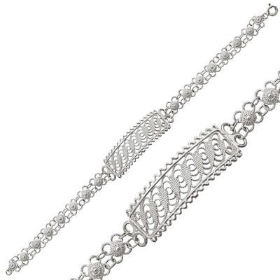 Tekbir Silver - Gümüş Beypazarı Telkari Bileklik