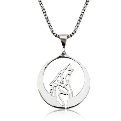 Tekbir Silver - Gümüş Bozkurt Kolye