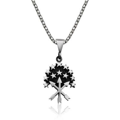 Tekbir Silver - Gümüş Çerkes Kolyesi