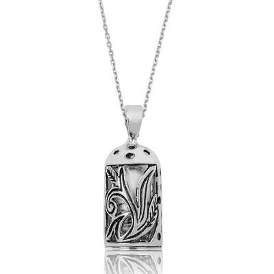 Tekbir Silver - Gümüş Cevşen Dualı Bayan Kolye
