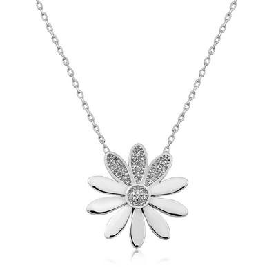 Gumush - Gümüş Çiçek Bayan Kolye