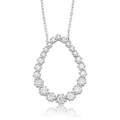 Tekbir Silver - Gümüş Damla Kolye