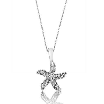 Gumush - Gümüş Deniz Yıldızı Bayan Kolye