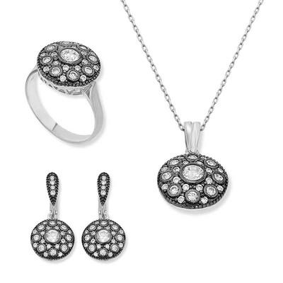 Tekbir Silver - Gümüş Elmas Modeli Bayan Set