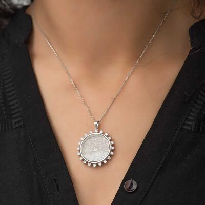 Tekbir Silver - Gümüş Esmaül Hüsna Bayan Kolye (1)