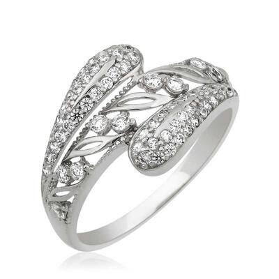 Tekbir Silver - Gümüş Fantazi Bayan Yüzük