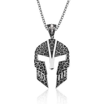 Tekbir Silver - Gümüş Gladyatör Erkek Kolye