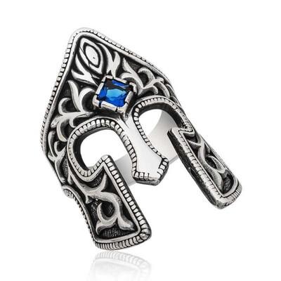 Tekbir Silver - Gümüş Gladyatör Erkek Yüzük