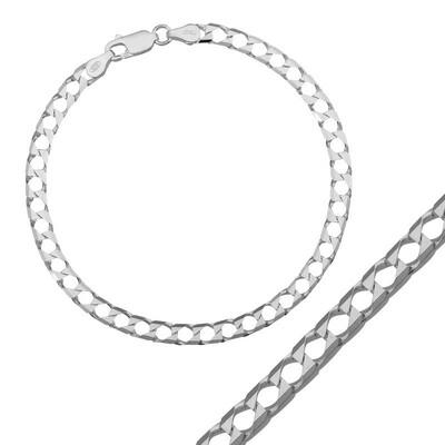 Tekbir Silver - Gümüş Gurmet Zincir Bileklik