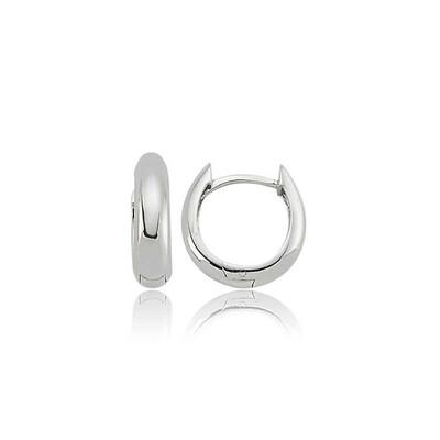 Tekbir Silver - Gümüş Halka Küpe (1)