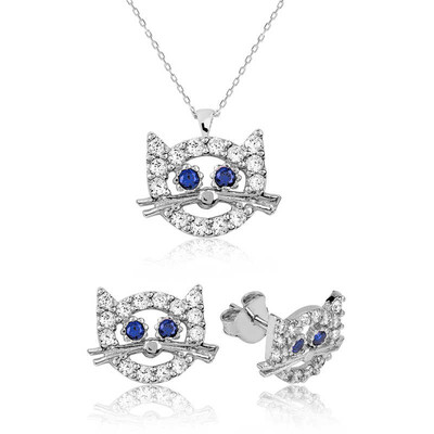 Tekbir Silver - Gümüş Hello Kitty Çocuk Set