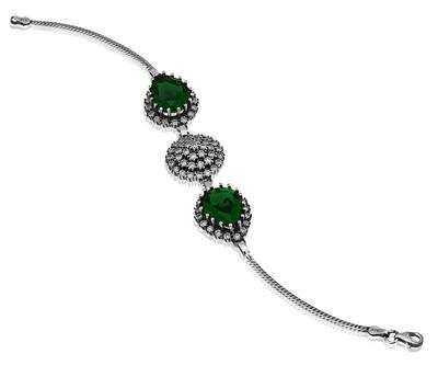 Tekbir Silver - Gümüş Hürrem Sultan Bayan Bileklik