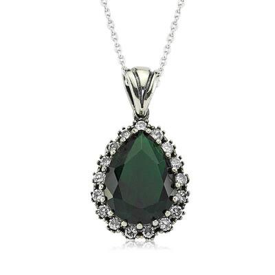 Tekbir Silver - Gümüş Hürrem Sultan Bayan Kolye