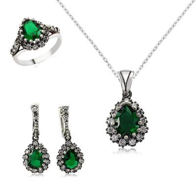 Tekbir Silver - Gümüş Hürrem Sultan Bayan Set