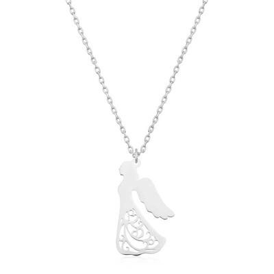 Gumush - Gümüş Kanatlı Melek Kolye
