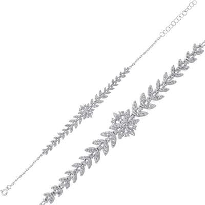 Tekbir Silver - Gümüş Kar Tanesi Bayan Bileklik