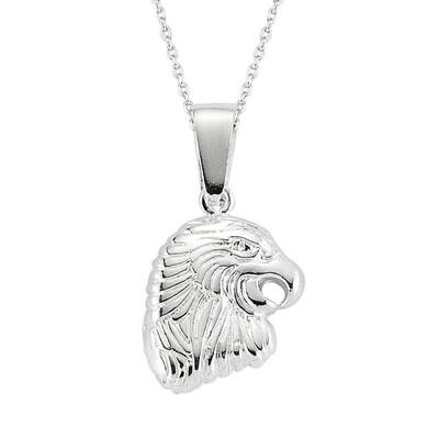 Tekbir Silver - Gümüş Kartal Erkek Kolye