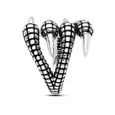 Tekbir Silver - Gümüş Kartal Pençesi Erkek Yüzük (1)