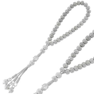 Tekbir Silver - Gümüş Kazaziye Tesbih