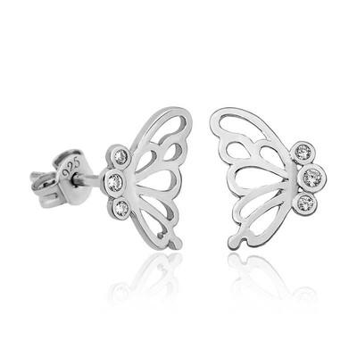 Gumush - Gümüş Kelebek Bayan Küpe