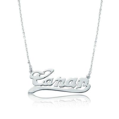 Tekbir Silver - Gümüş Kişiye Özel İsimli Bayan Kolye