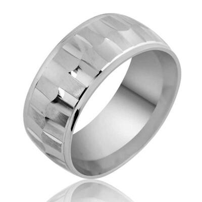 Tekbir Silver - Gümüş Klasik Alyans
