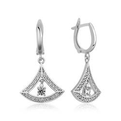 Tekbir Silver - Gümüş Klasik Bayan Küpesi