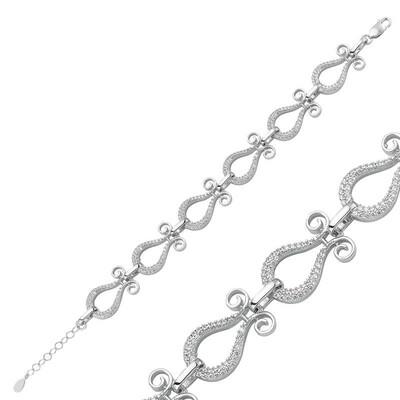 Tekbir Silver - Gümüş Lale Bayan Bileklik