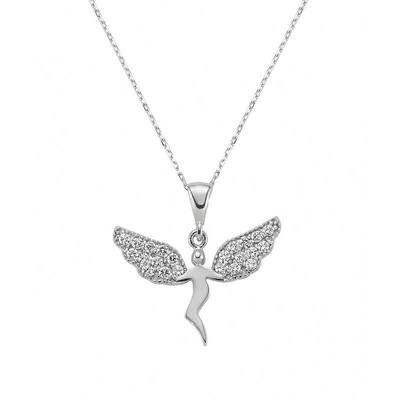 Tekbir Silver - Gümüş Meleğim Bayan Kolye
