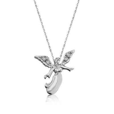 Tekbir Silver - Gümüş Melek Bayan Kolye