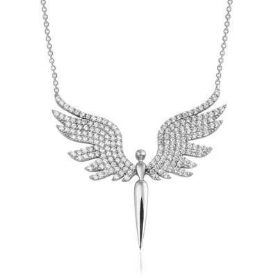 Gumush - Gümüş Mikail Meleği Bayan Kolye