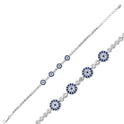 Tekbir Silver - Gümüş Nazar Bayan Bileklik