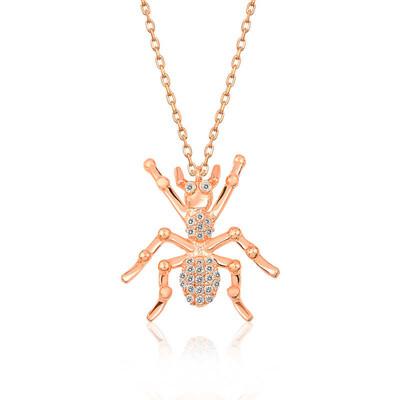 Gumush - Gümüş Örümcek Bayan Kolye