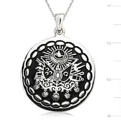 Tekbir Silver - Gümüş Osmanlı Devlet Armalı Kolye
