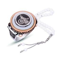 Tekbir Silver - Gümüş Osmanlı Tuğra Erkek Yüzük