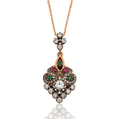 Tekbir Silver - Gümüş Otantik Bayan Kolye