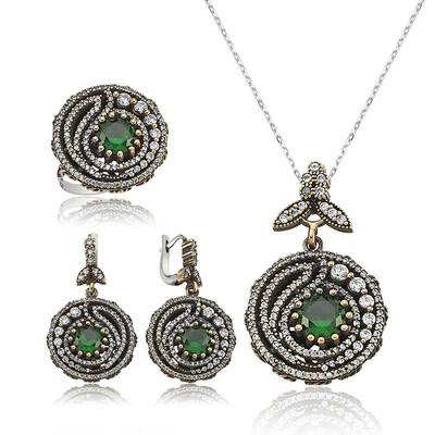 Tekbir Silver - Gümüş Otantik Bayan Set
