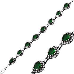 Tekbir Silver - Gümüş Otantik Hürrem Sultan Bayan Bileklik