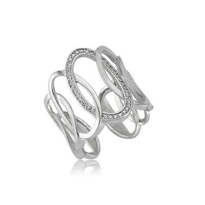 Tekbir Silver - Gümüş Ovaller Bayan Yüzük