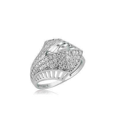 Tekbir Silver - Gümüş Palmiye Bayan Yüzük