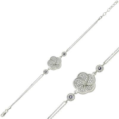 Tekbir Silver - Gümüş Papatya Bayan Bileklik