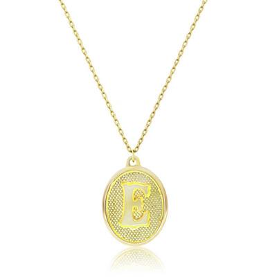 Tekbir Silver - Gümüş Pres Harf Bayan Kolye