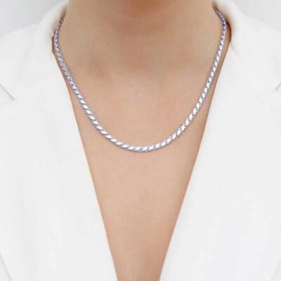 Gumush - Gümüş Pullu Arpa Zincir (1)