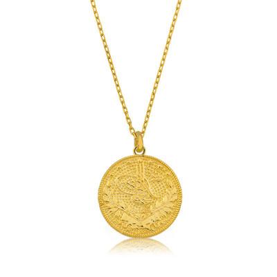 Gumush - Gümüş Reşat Altın Bayan Kolye