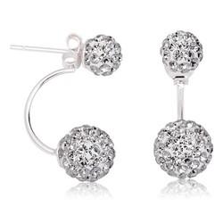 Tekbir Silver - Gümüş Sihirli Top Bayan Küpe
